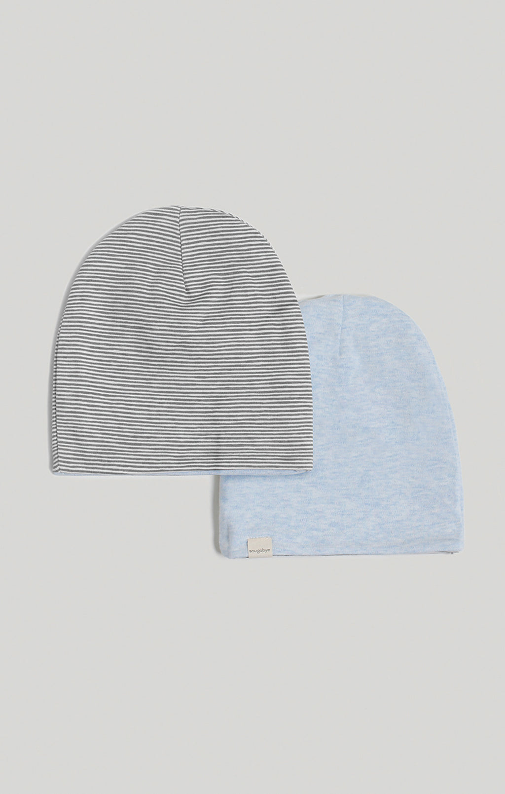 Beanie - Reversible Stripes & Blue Slouchy Beanie | Baby Hat
