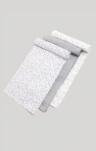 Muslin Baby Swaddles 3 Pack