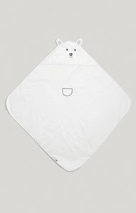 Towel - Bear Hooded Towel with 3D Ears | Baby Accessories