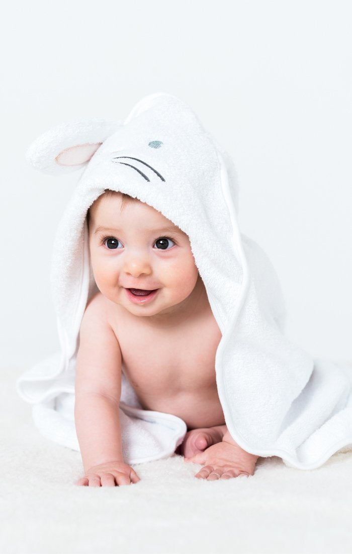 Dream Bunny Hooded Towel with 3D Ears