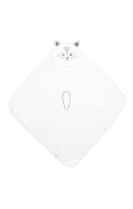Dream Raccoon Hooded Towel with 3D Ears