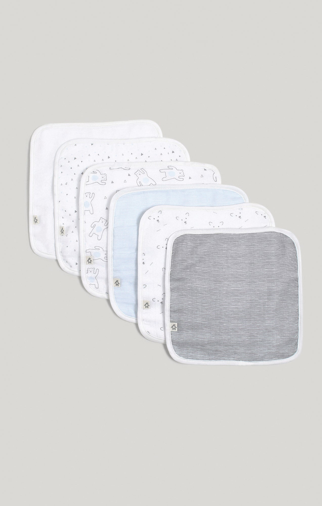 Baby Accessories - 6 Pk of Baby Boy Wash Cloths