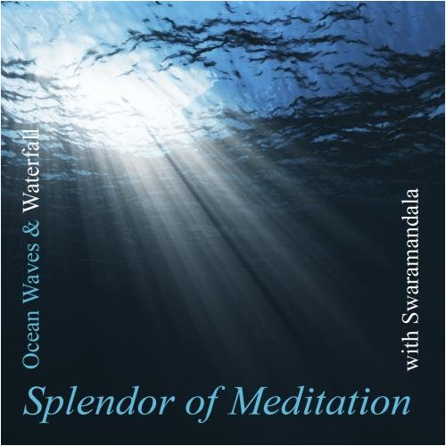 Splendor of Meditation-Healing Sounds of Ocean Waves and Waterfall - Relax Me