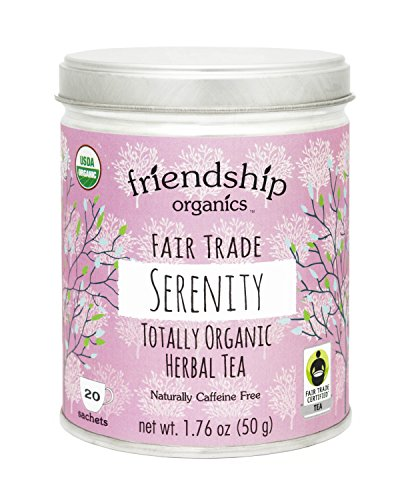 Organic Calming Tea, Serenity, Fair Trade, 20 tagless sachets : Grocery & Gourmet Food - Relax Me