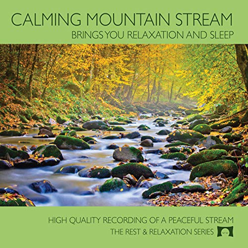 Calming Nature Mountain Stream - Babbling Brook - Brings You Relaxation And Sleep - Relax Me