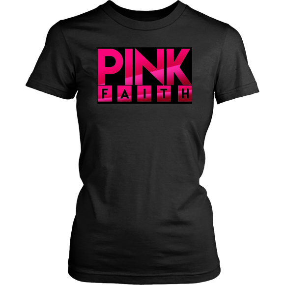 Pink Faith Collection Official T-Shirt of the National Breast Cancer Awareness Campaign - Relax Me