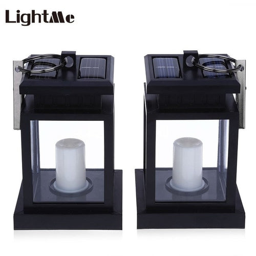Lightme Solar Power Lantern Candle Lamp - Relax Me