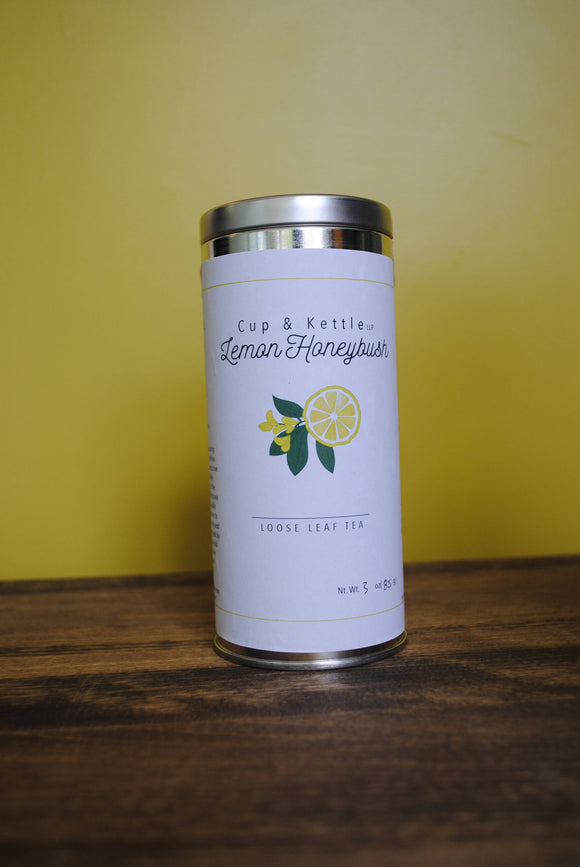 Lemon Honeybush Tea 3 oz Tin - Relax Me