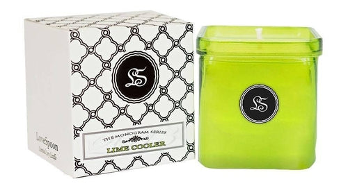 Romantic Flames Lime Cooler Soy Candle - Relax Me
