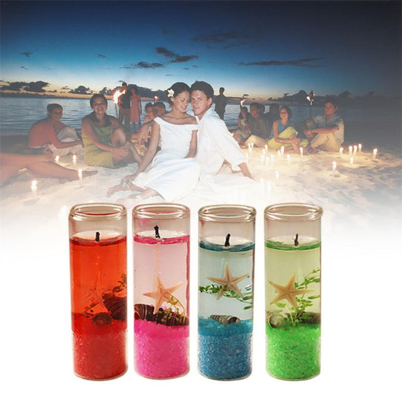 Romance-Creative Aroma Candle Ocean Glass Bottle Candle - Relax Me