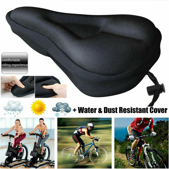 Breathable Mountain Bicycle Soft Saddle Gel Pad Cushion Seat Cover - Relax Me
