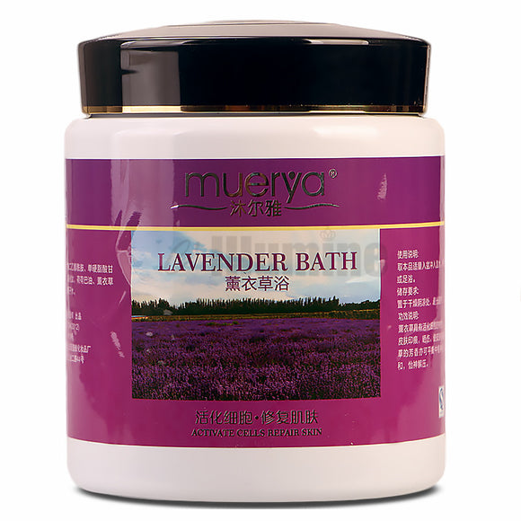 Spa-Lavender Bath Powder Spa Bubble Bath Wet Cream - Relax Me