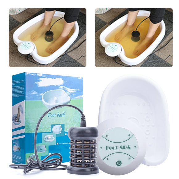 Featured Item-Ionic Ion Detox  Foot Spa w/Tub Basin Foot Spa Machine - Relax Me
