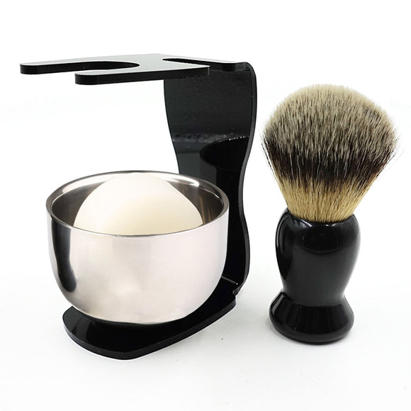 Shaving Brush/ Brush Holder/ Bowl Shaving Soap Shaving Set - Relax Me