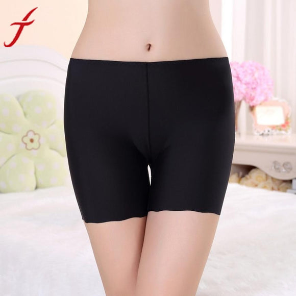 Women Casual Seamless Underwear Lace Silk Three-Point Safety Underwear - Relax Me