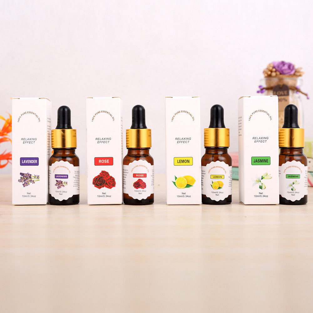 Natural And Pure Essential Oils Carrier Aromatherapy Fragrance 10ml - Relax Me