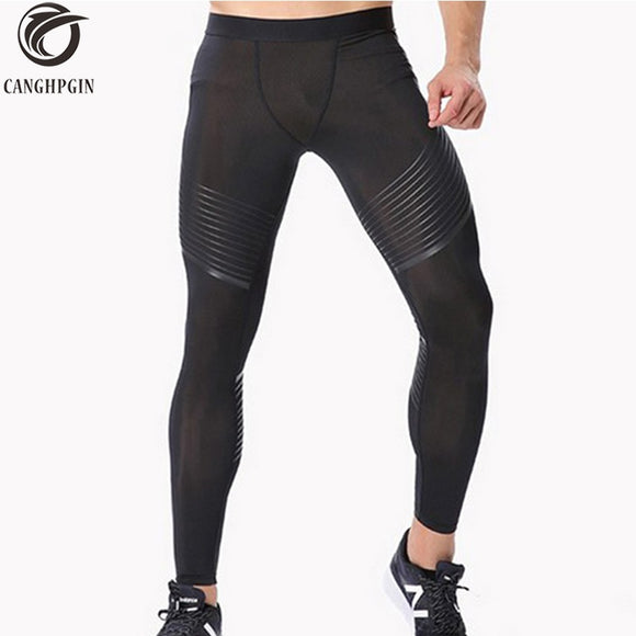 Men's Compression Athletic Running Pants - Relax Me