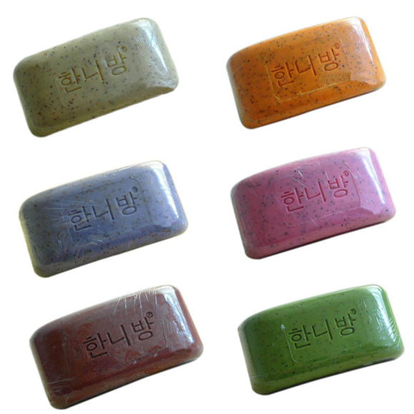 Pure Nature Elements Organic Bath Handmade Soap Flower Plants Essence Volcanic Clay - Relax Me