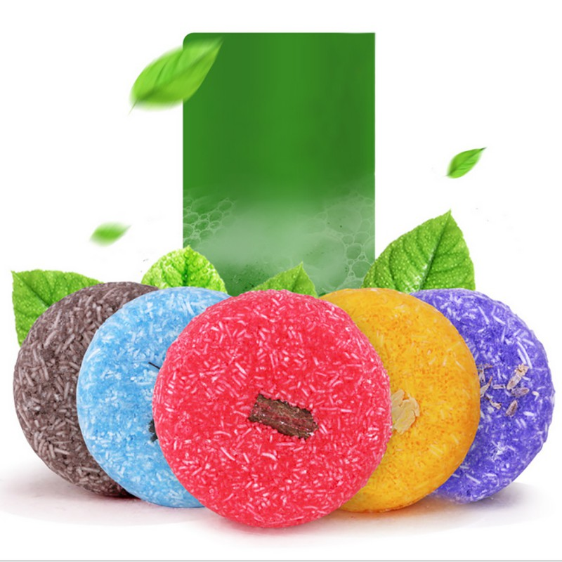 1pcs Hair Shampoo Soap Anti-Dandruff Moisturizing Hair Soap Refreshing Oil-control - Relax Me