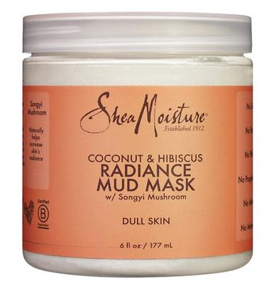 SheaMoisture Coconut Hibiscus Mud Mask 6 oz - Relax Me