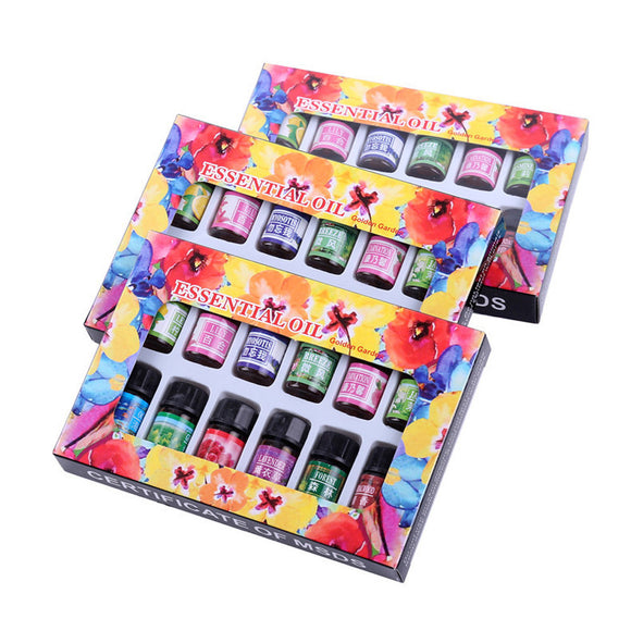 12 Flavor /Box Pure Aromatherapy Essential Oil Skin Care Bath Massage Beauty - Relax Me