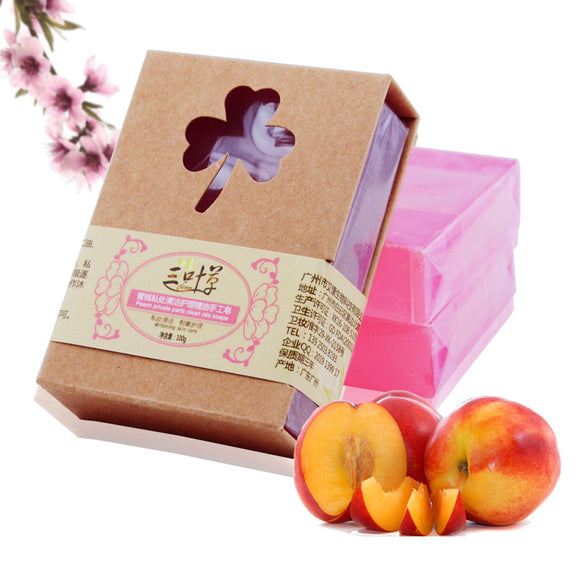 All Natural Shea Butter Peach Handmade Soap Privates Part Cleaning Nursing Bath Soap - Relax Me