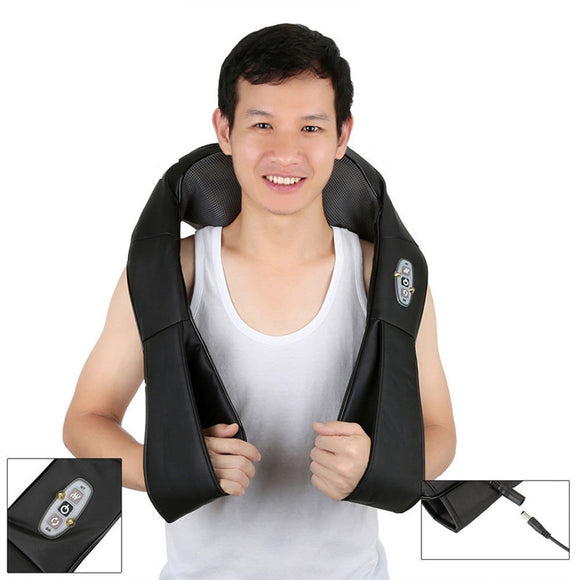 Electric Massage Pillow Muscles Neck Waist Body Relax Tool for Home Car - Relax Me