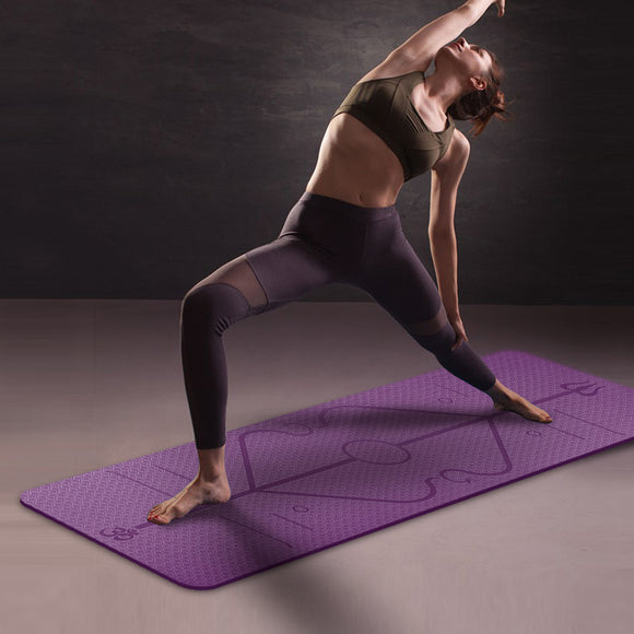 Non-slip Environmental Fitness Yoga Exercise Mat - Relax Me