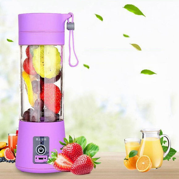 Smoothie Maker Blender Shake Mini Portable USB Rechargeable Elec Juice Machine - Relax Me