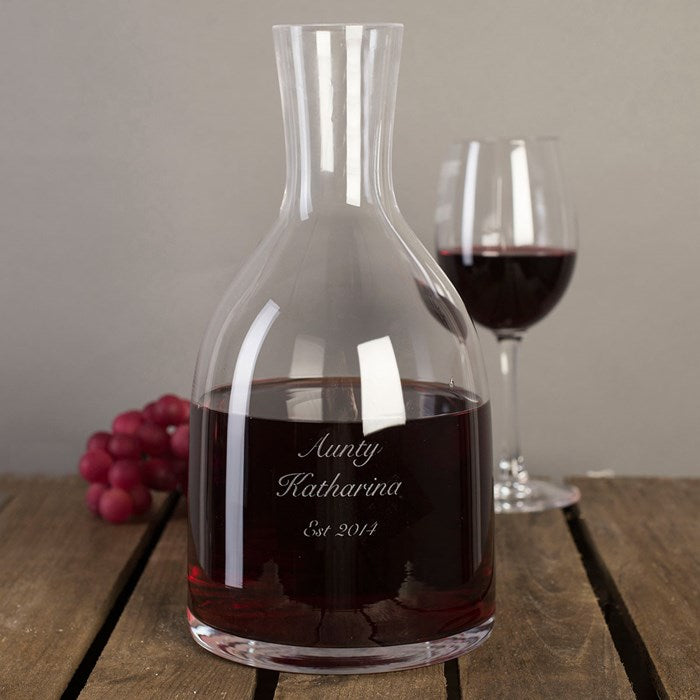 Personalized Carafe