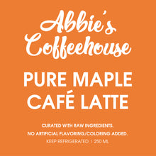 Premium: 100% Pure Maple Latte