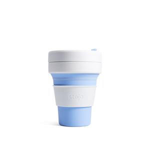 Stojo pocket -Sky (12oz, 350ml)