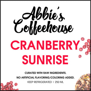 Fruit Tea: Cranberry Sunrise