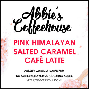 Exclusive: Pink Himalayan Salted Caramel Cafe Latte