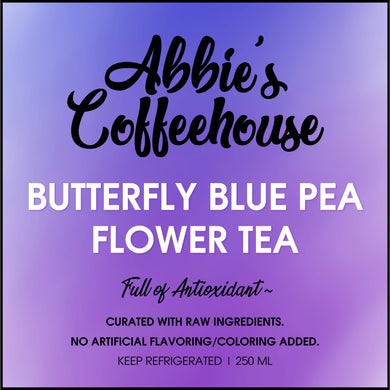 NEW: Butterfly Blue Pea Flower Lemonade Tea