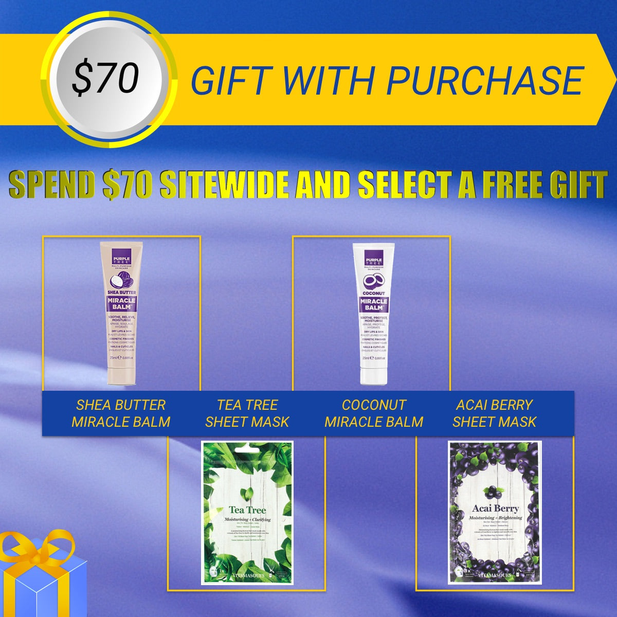 bella scoop gift with purchase 70 spend