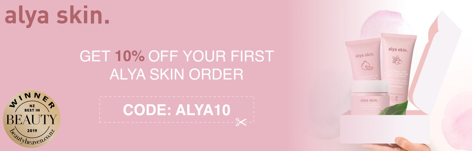 alya skin first order 10% off bella scoop