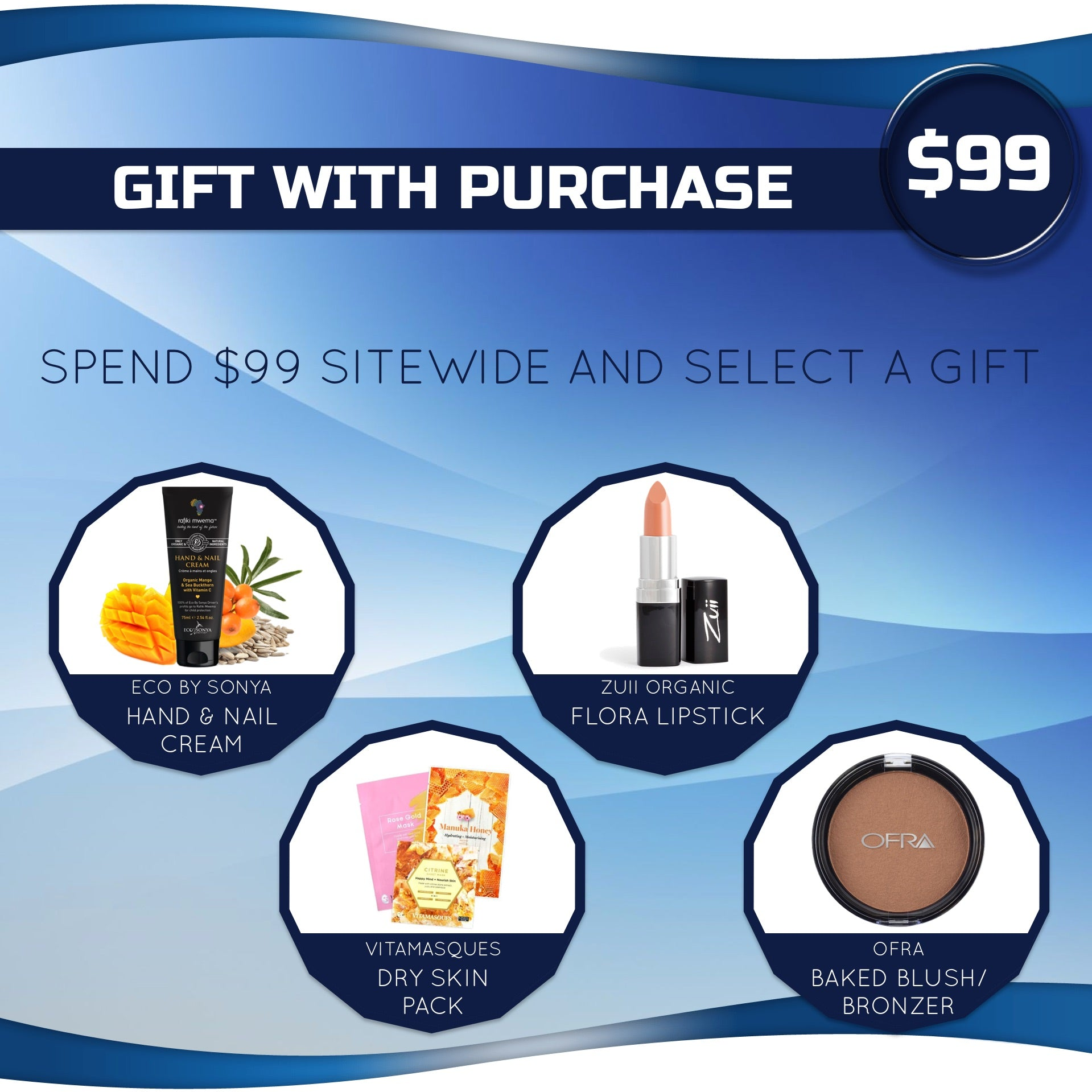 gift with purchase $99 bella scoop