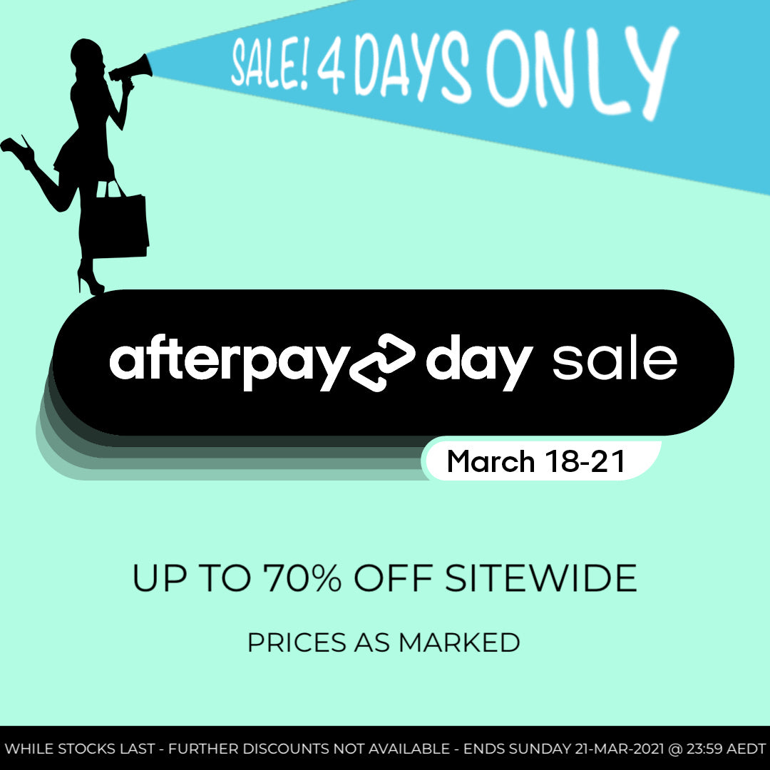 Afterpay Day Sale bella scoop