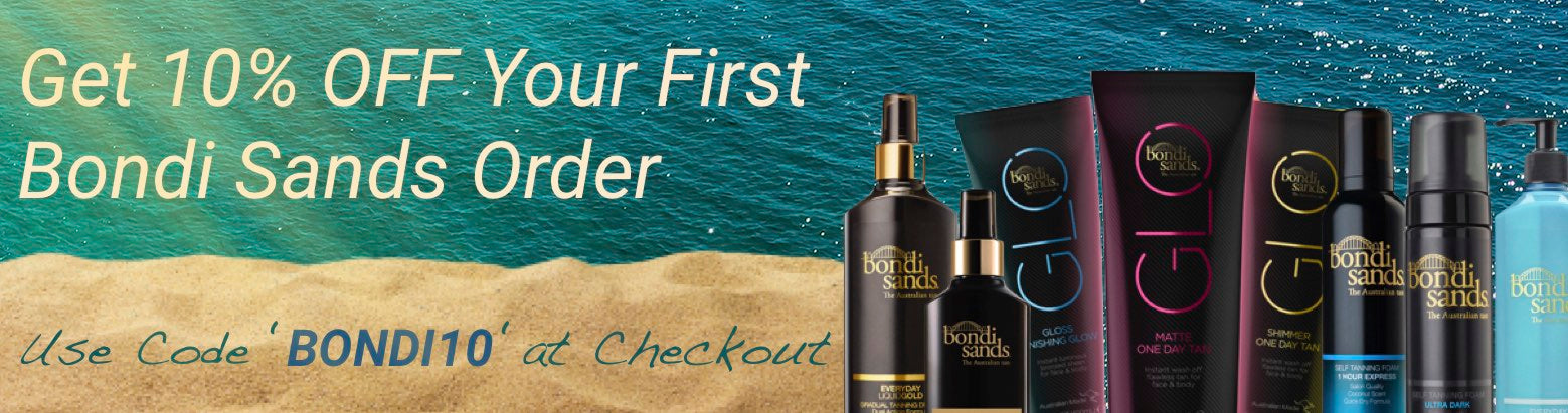 bondi sands first order 10% off bella scoop