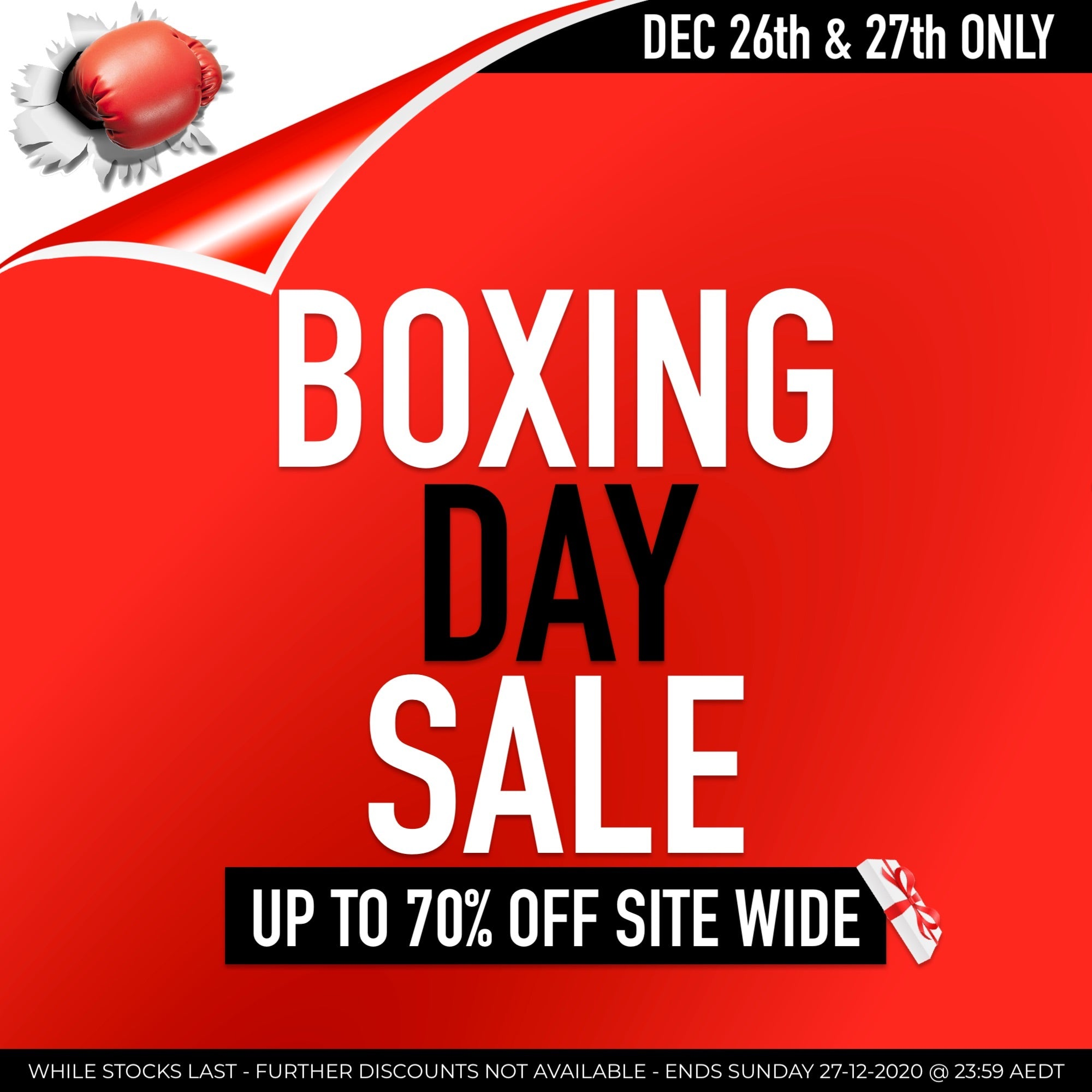 Boxing Day Sale bella scoop