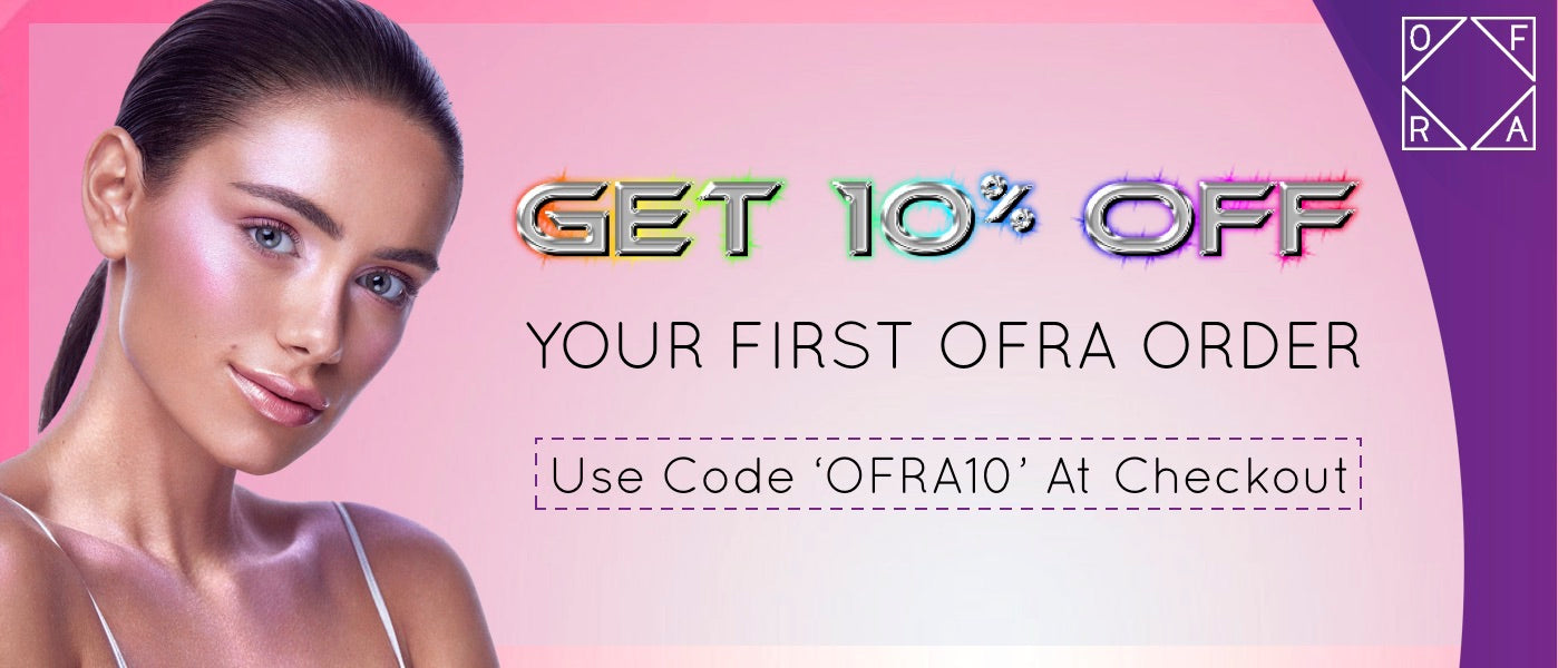 ofra 10% off your order bella scoop