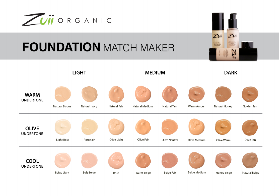 Zuii Organic Foundation Match Maker Flora Liquid Foundation Bella Scoop