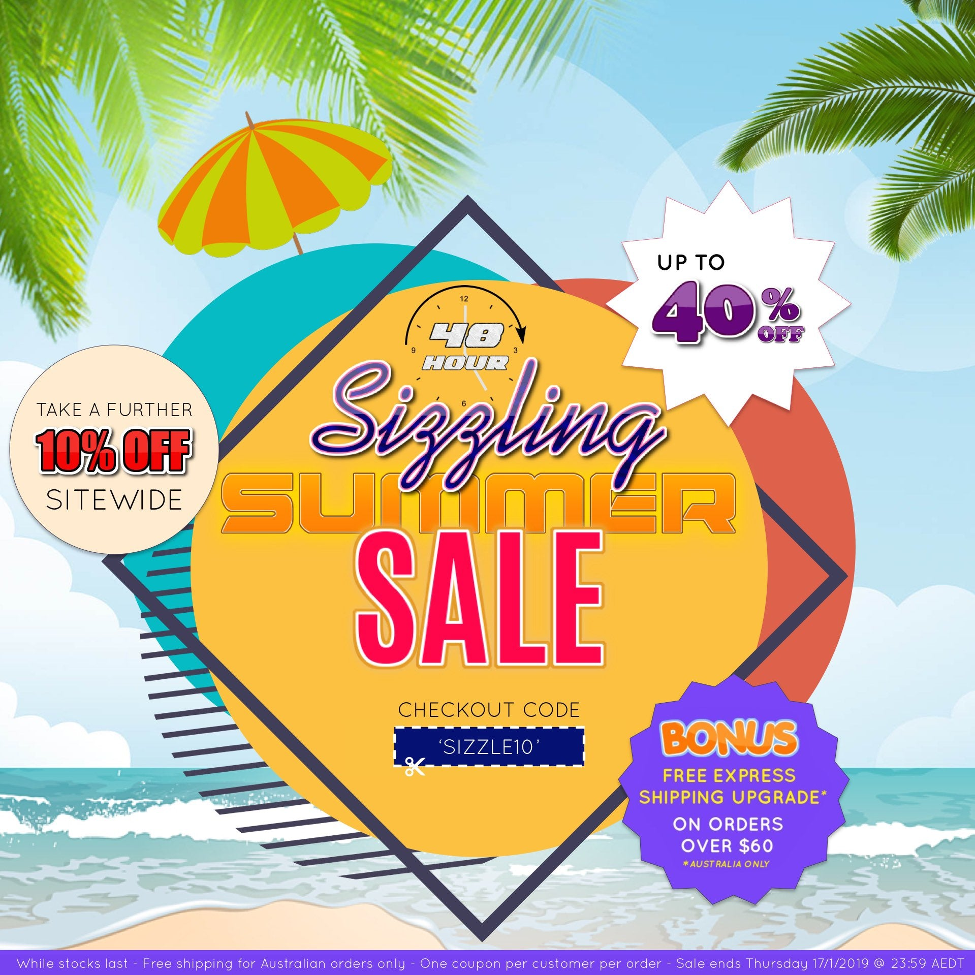 sizzling summer sale 10% off bella scoop
