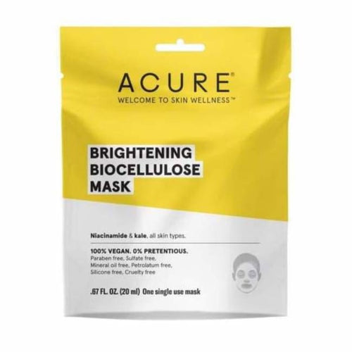 Acure Brightening Biocellulose Mask - Mask