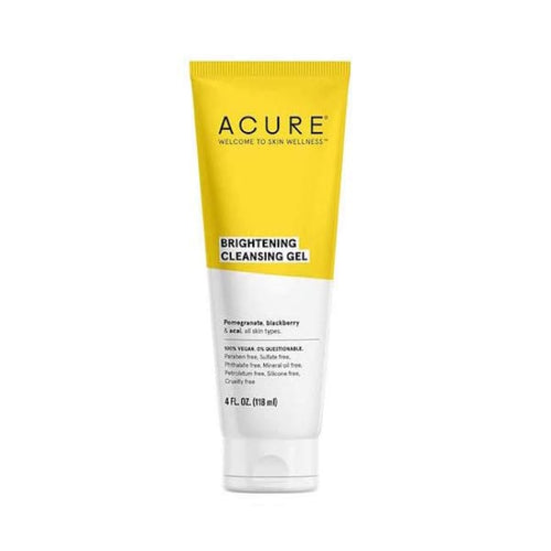 Acure Brightening Cleansing Gel - Cleanser