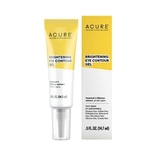 Acure Brightening Eye Contour Gel - Eye Cream