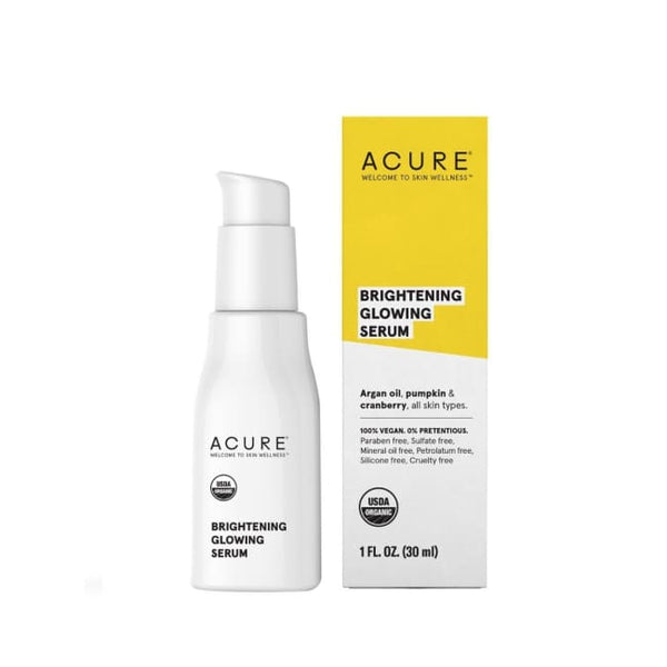 Acure Brightening Glowing Serum - Serum