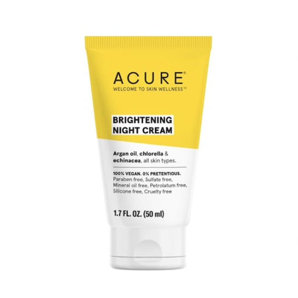 Acure Brightening Night Cream - Moisturiser