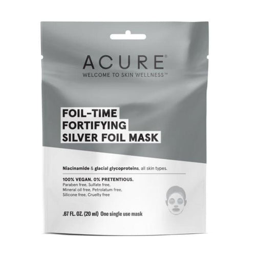 Acure Foil-Time Fortifying Silver Mask - Mask